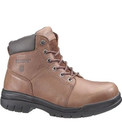 28c08b5fd7c Wolverine Boot 6' STEEL-TOE 4713 Brown