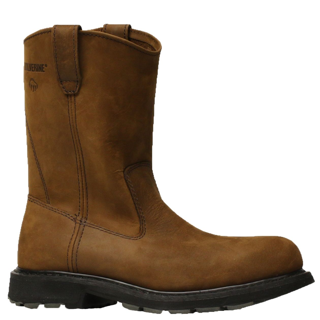 cf818638d87 Wolverine Boot 10' STEEL-TOE 4707 Brown