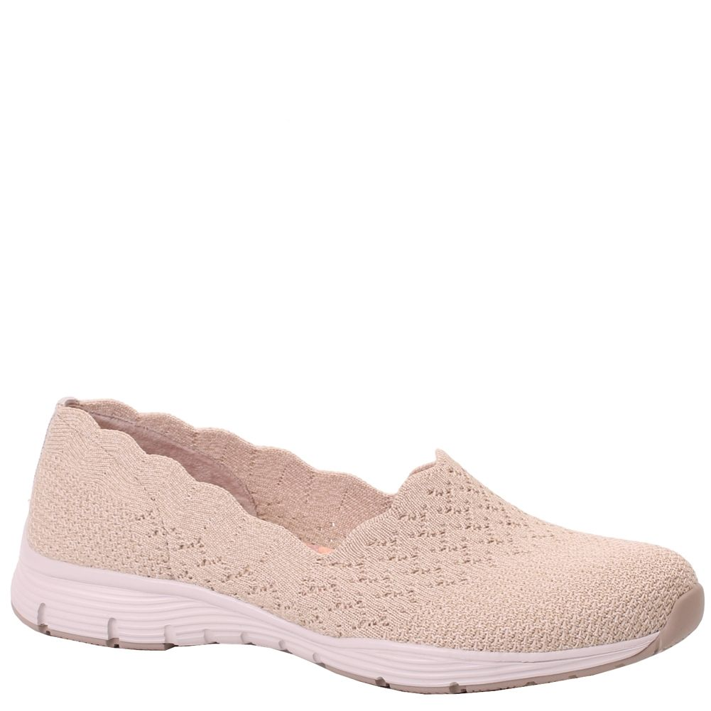 on feet at cute cheap sale online Skechers SEAGER-STAT 49481NAT Natural