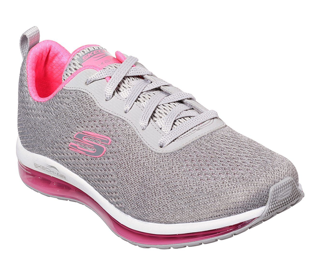 73fba67568 SKECHERS Air Element 12644GYHP GREY/HOT PINK | Large Selection, great value!