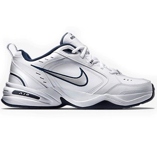 on sale dd6d8 95ae4 Nike AIR MONARCH IV 415445-102 WhiteNavy  Large Selection, great value!