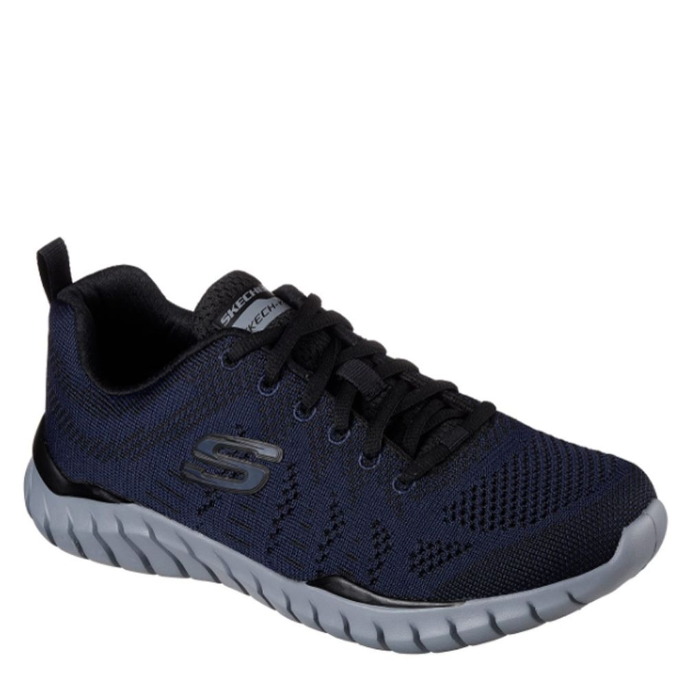 7fdbf62a3149 Skechers OVERHAUL 52819 NVBK Navy Black