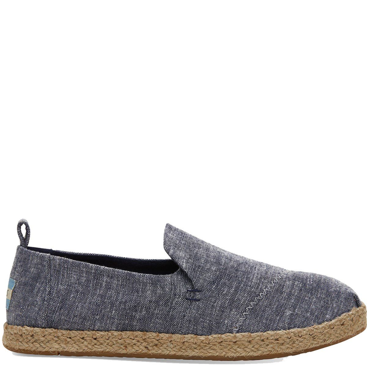 2394b41ca69 Toms DECONSTRUCTED ALPARGATA ROPE 10013365 Navy Chambray