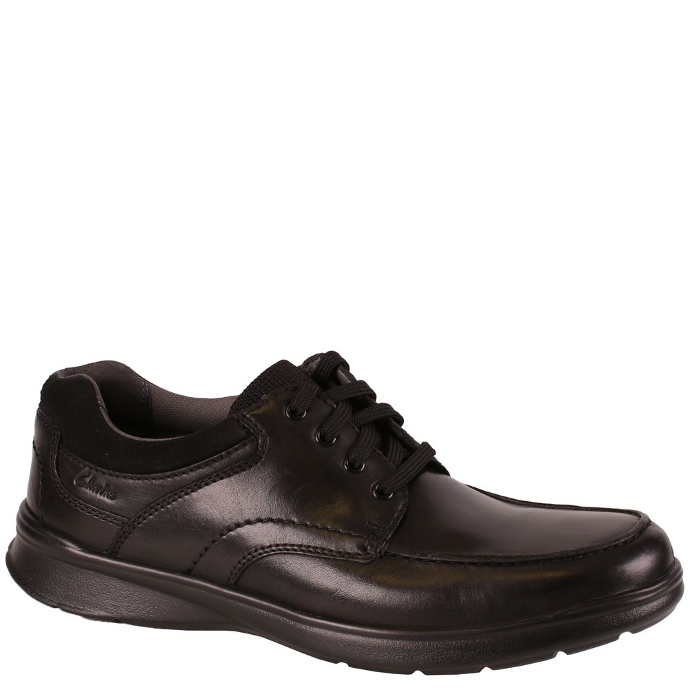 45e20735fdb Clarks COTRELL EDGE 26137385 Black Smooth Leather