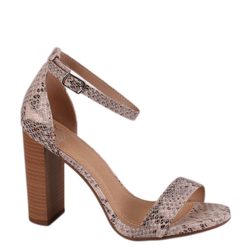 a54df2694 Love Delicious SHINER Beige Python